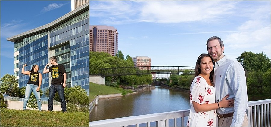 Downtown Richmond, Virginia Engagement Session