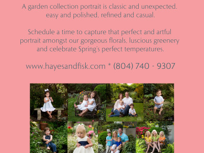 The Garden is Open at Hayes and Fisk Photography