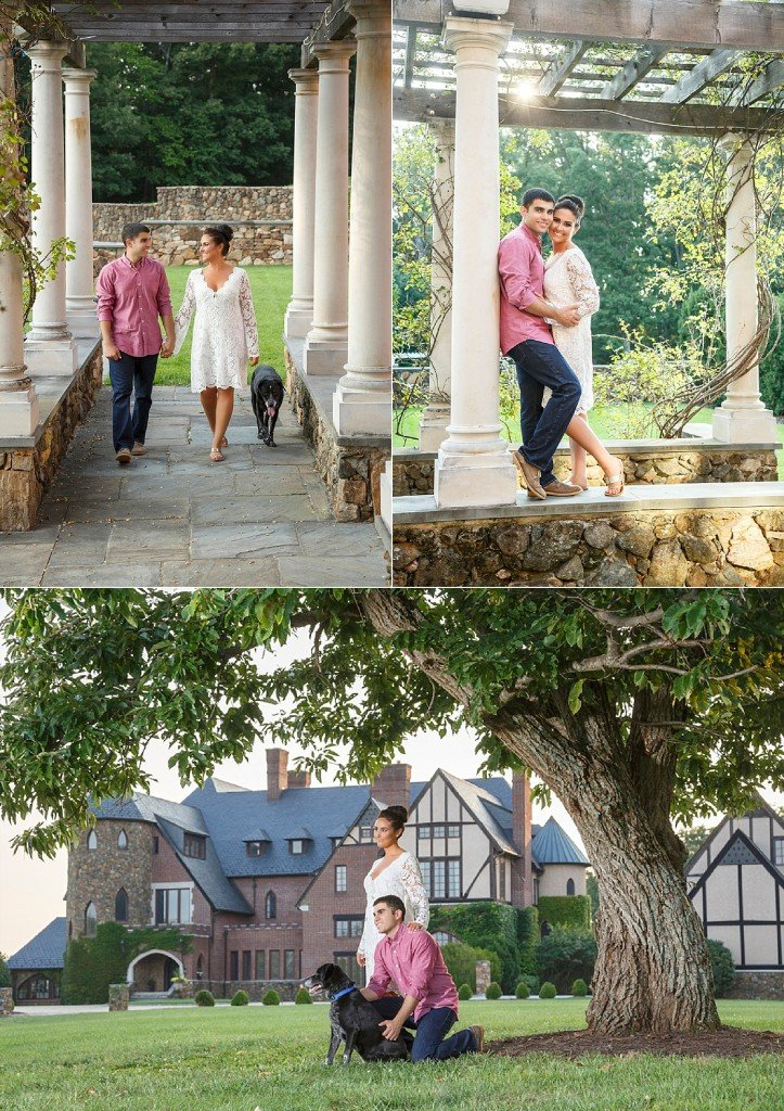 Sarah & Rod | Dover Hall Engagement Session