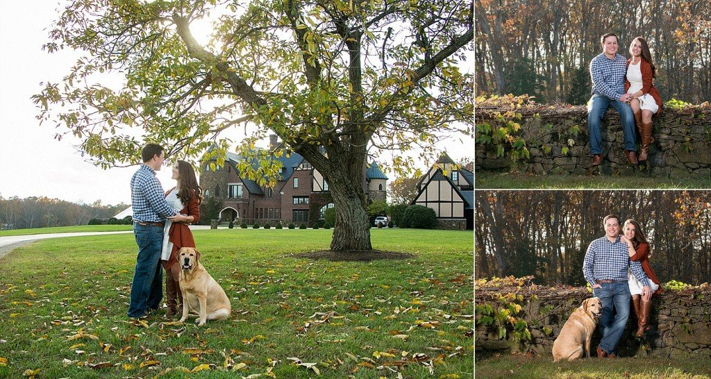 Engagement Session at Dover Hall Estate