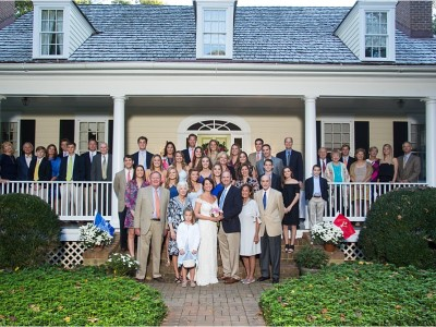 Two Families Become One | Manakin-Sabot Wedding